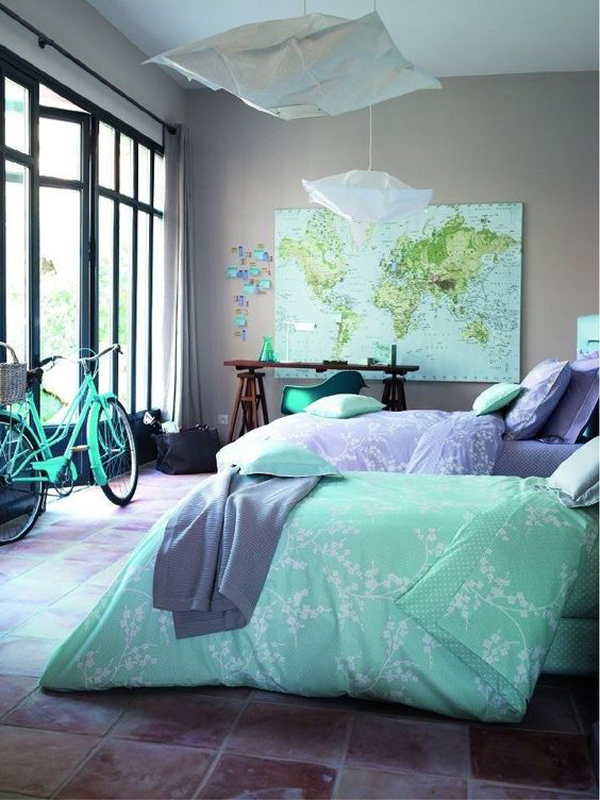 trendy-turquoise-bedroom-color-ideas