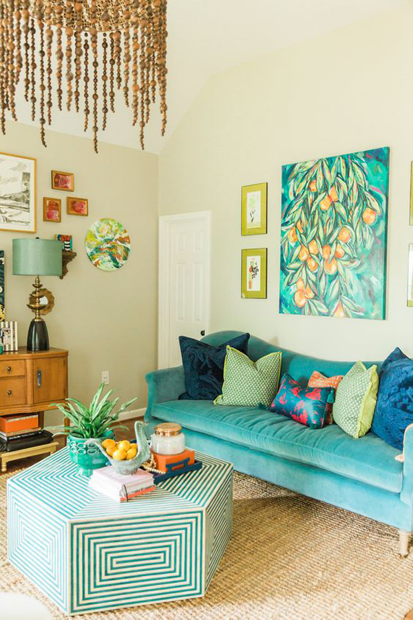 turquoise-living-room-ideas