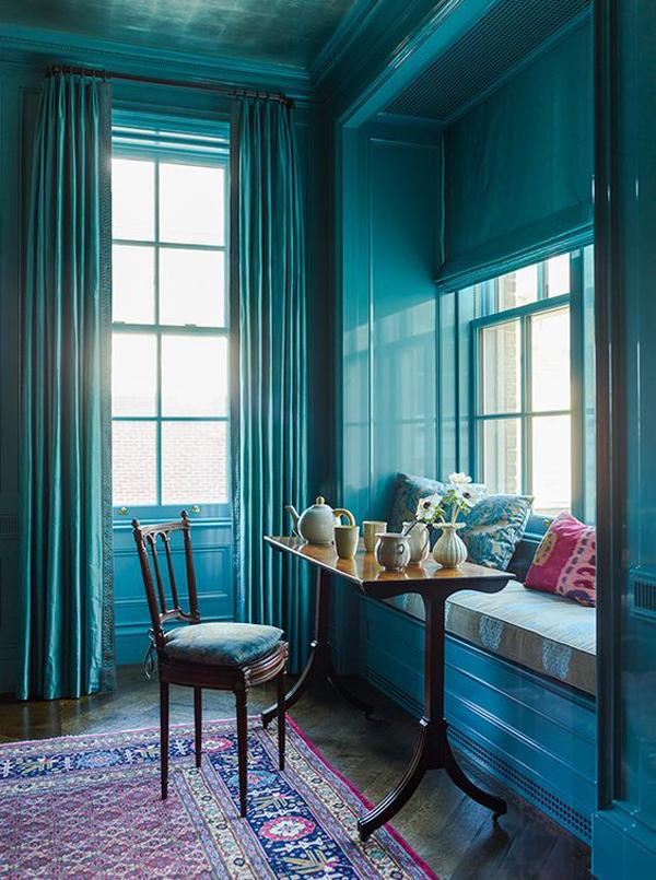 turquoise-window-seat-design