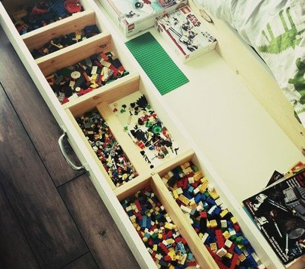 22 Easy DIY Ways To Store LEGO You Can Try