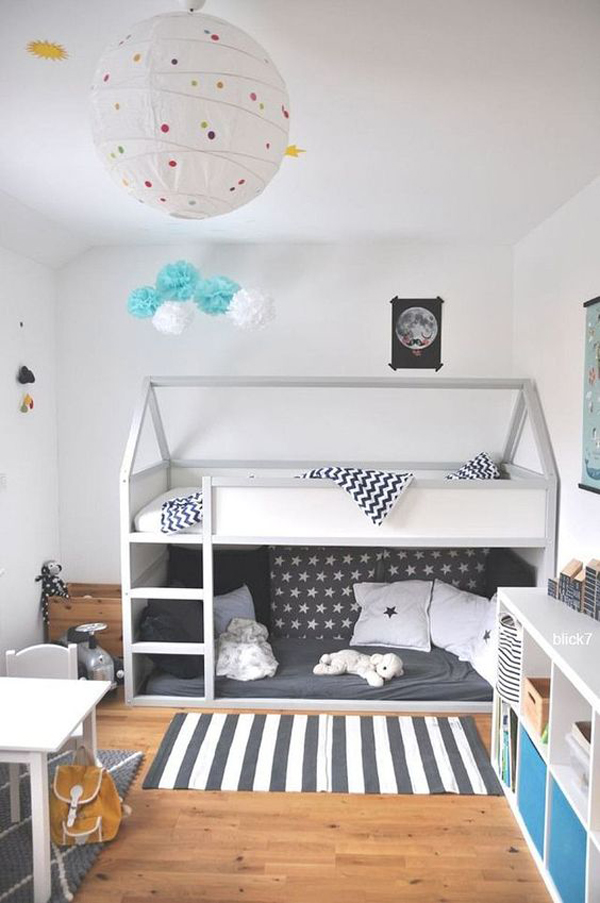 white-and-grey-kid-rooms-with-kura-beds