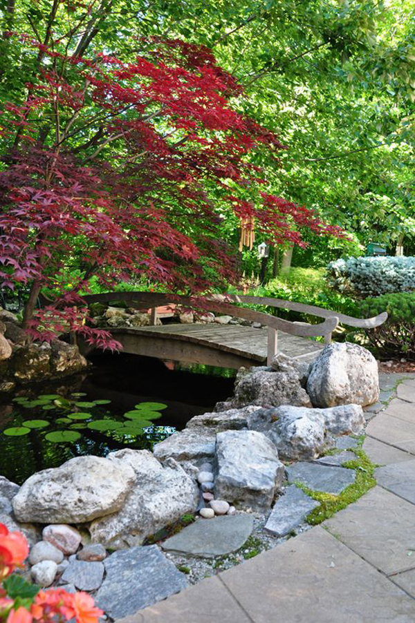 wood-garden-bridge-with-pond