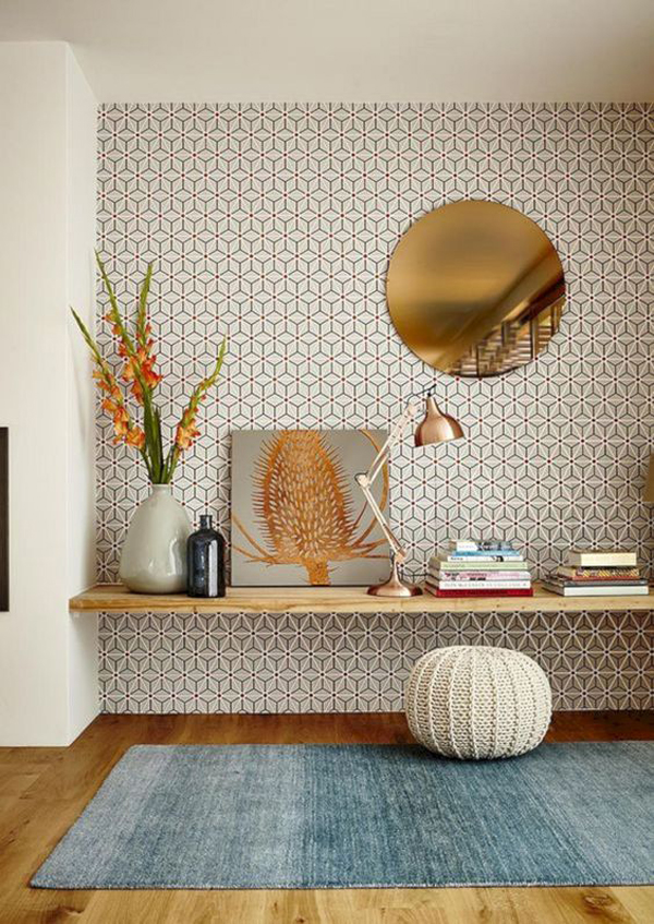 beautiful-chic-home-office-wallpaper-design