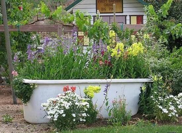 beautiful-old-bathtub-container-garden