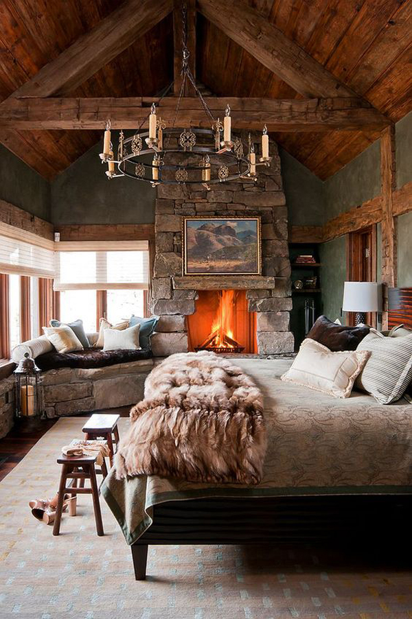 classic-bedrooms-with-romantic-tradition-fireplace