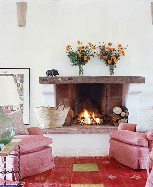coastal-romantic-fireplace-with-pink-color