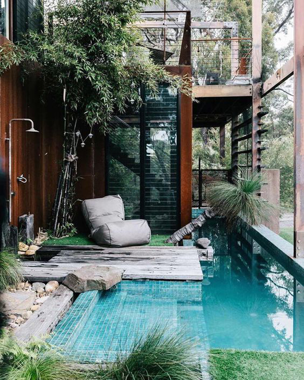 cool-small-pool-ideas-with-beanbags