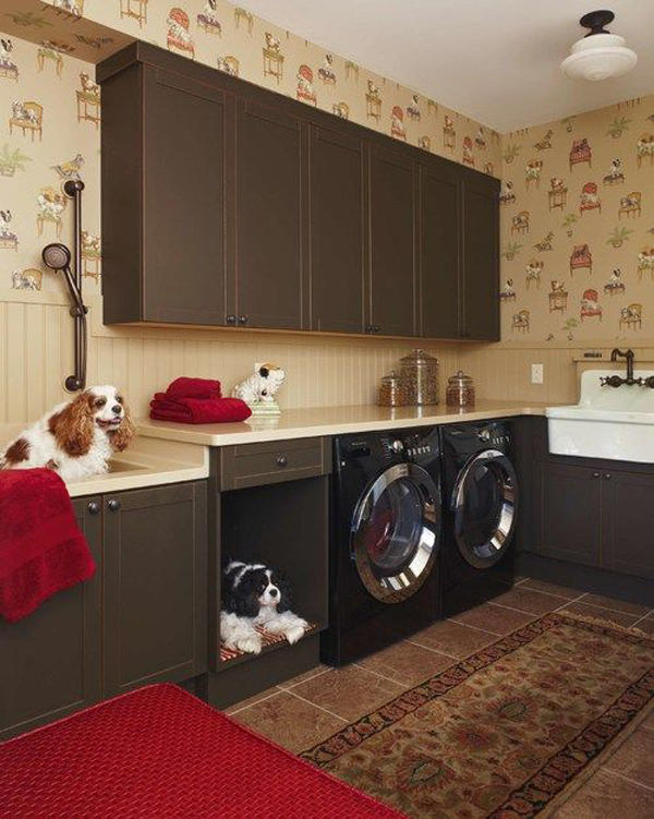 cozy-dog-space-design-in-the-laundry