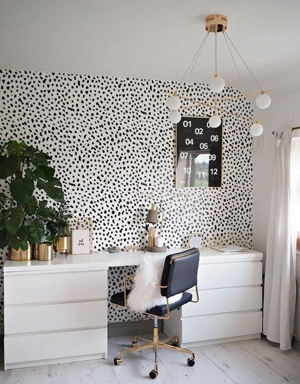 dalmation-spots-home-office-wallpaper
