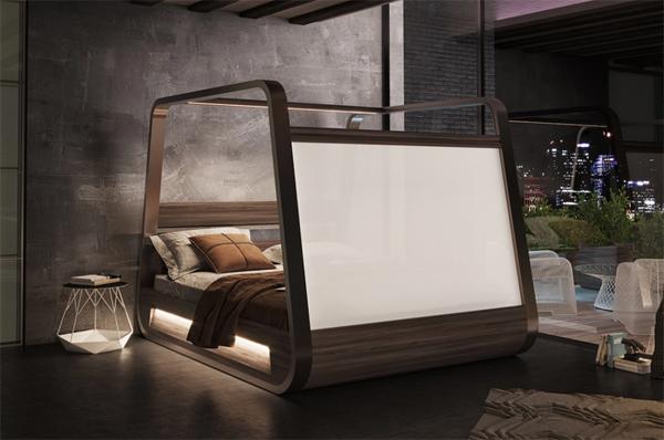 elegant-Hi-Bed-television-designs
