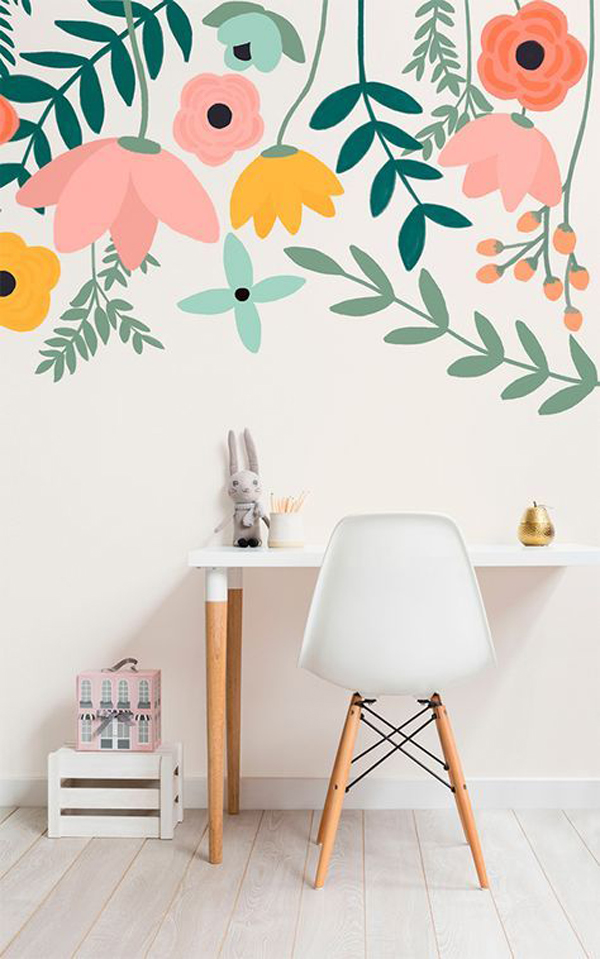 flower-paint-home-office-wallpaper