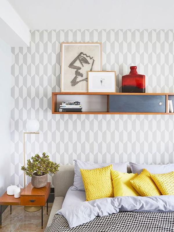 grey-chic-bedroom-accent-walls