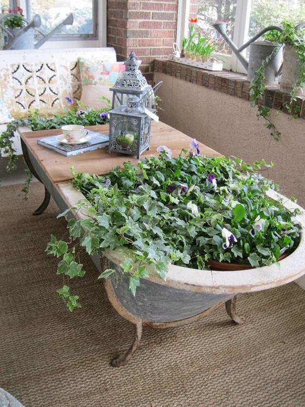 indoor-moroccan-bathtub-garden-ideas
