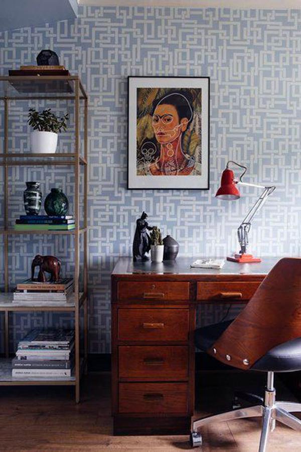 light-blue-home-office-wallpaper-ideas