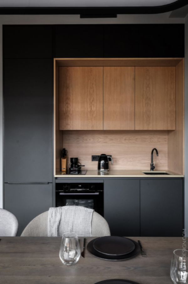 modern-grey-kitchen-design-for-small-apartment