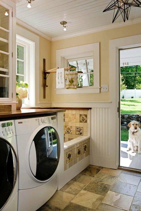 multifunctional-laundry-room-with-dog-wash-station