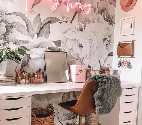 25 Best Home Office Wallpaper Ideas To Boost Your Moods