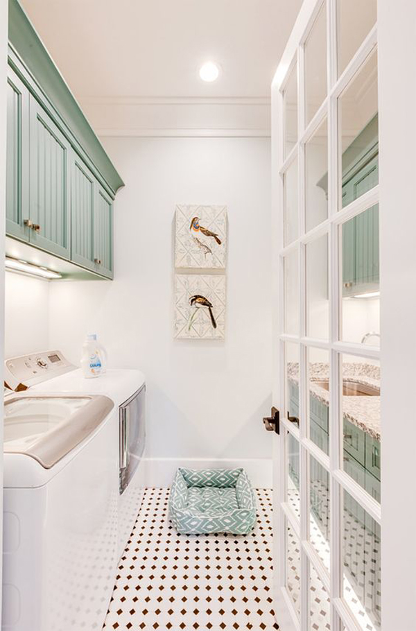 small-laundry-room-with-dog-beds