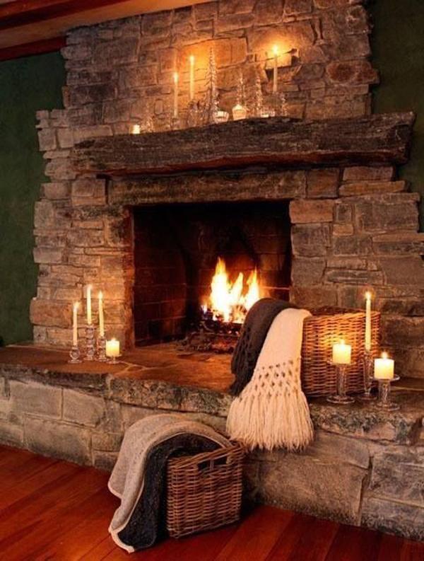 traditional-romantic-fireplace-decor