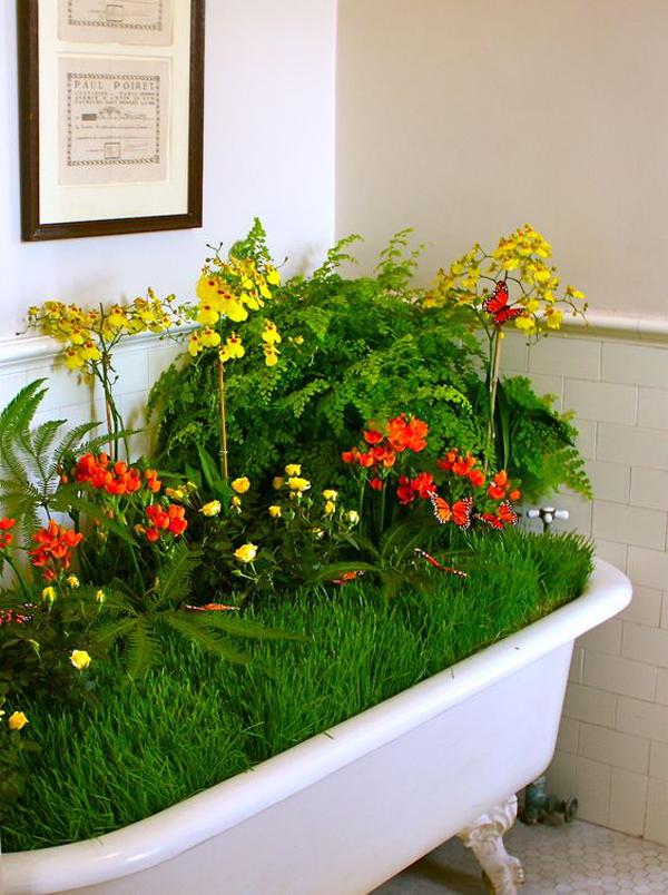 vintage-claw-foot-bathtub-garden-for-indoor