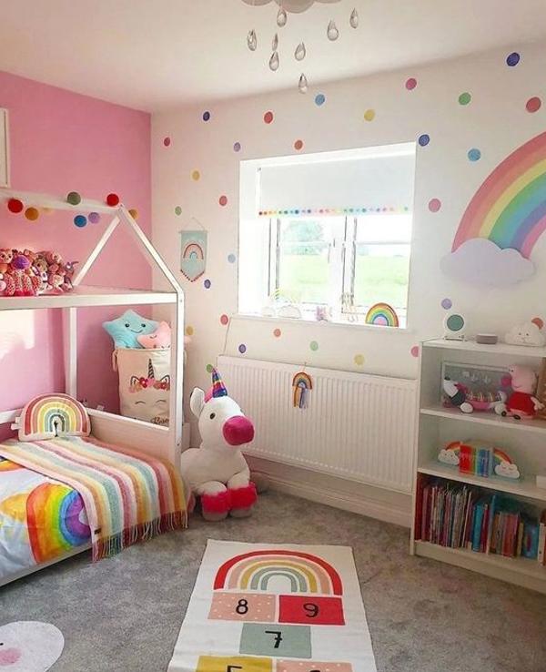 adorable-polka-dot-bedroom-ideas-for-toddler-girl