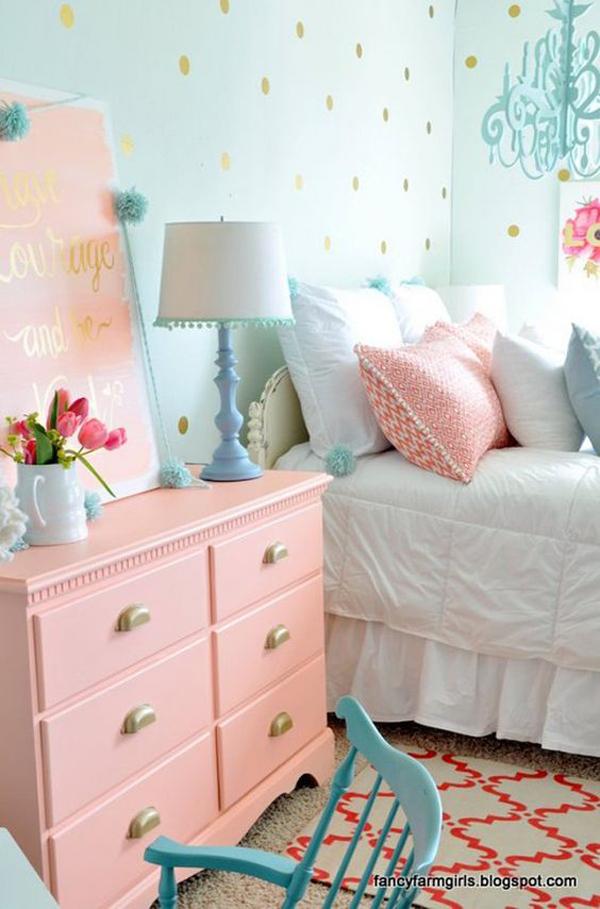 best-polka-dot-bedrooms-for-kids