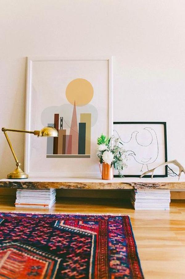 bohemian-floor-desk-design