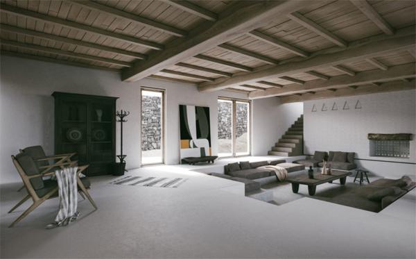 cozy-traditional-sunken-living-room