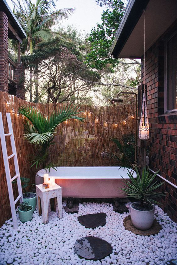cute-pink-tubs-for-outdoor