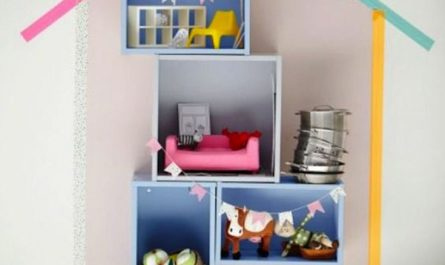 diy-washi-tape-for-kids-wall-shelf