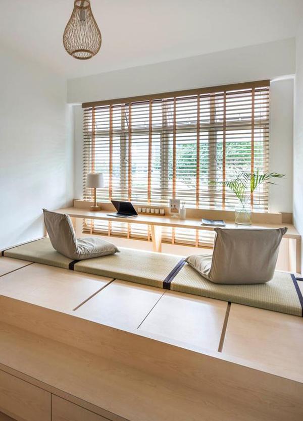 10 Minimalist Home Office Design With Floor Desk