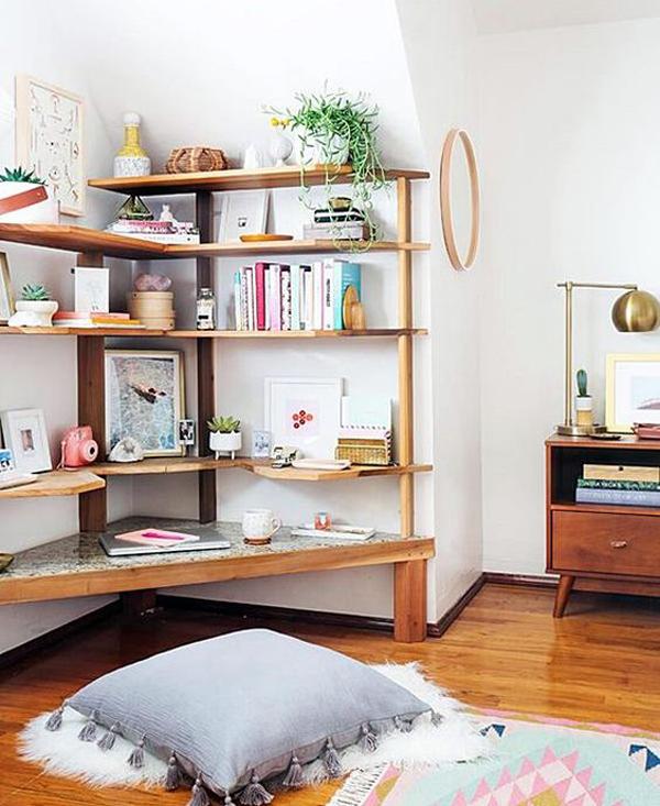 floor-desk-ideas-in-the-corner