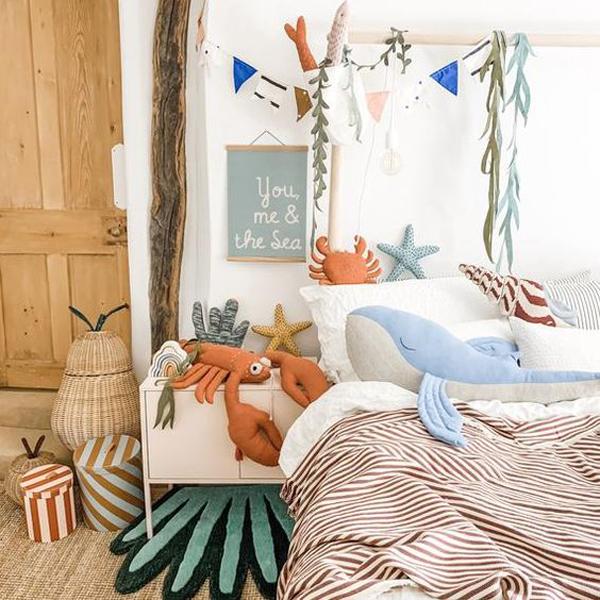 10 Seaside Bedroom Design That Kids Will Love