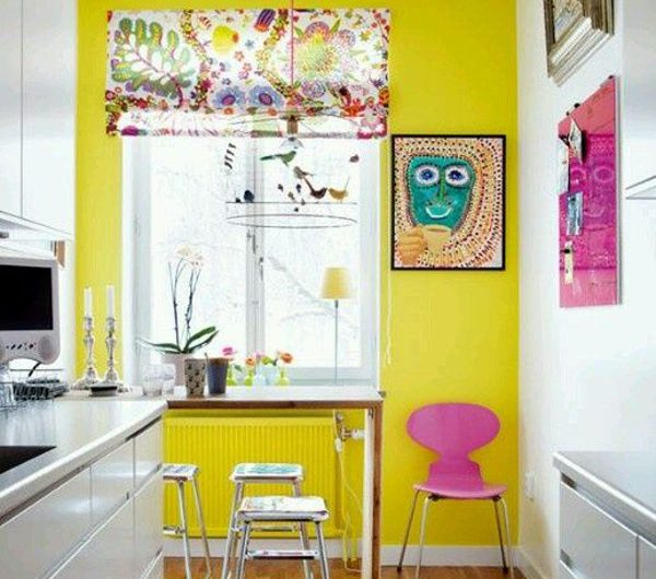 25 Fun Yellow Accent Wall Ideas To Keep Your Mood