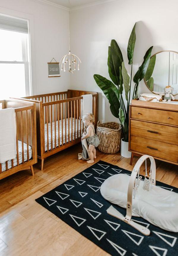 mid-century-wood-twin-nurseries