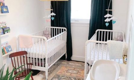 minimalist-twin-nurseries-for-small-space