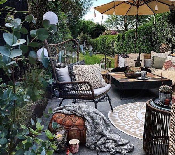 23 Beautiful Bohemian Garden Ideas With Outdoor Retreat