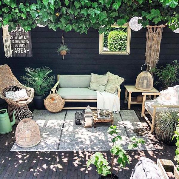 natural-boho-garden-ideas-for-backyard
