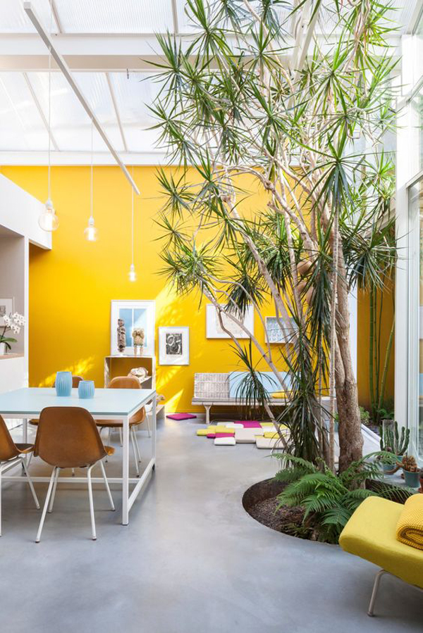 open-interior-with-yellow-accent-walls