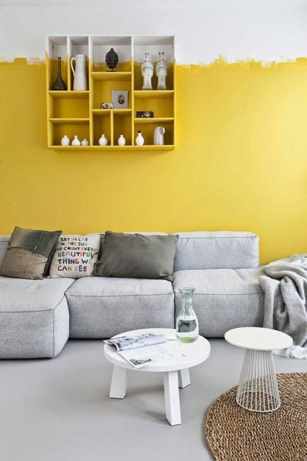 scandinavian-living-room-design-with-yellow-accent-walls