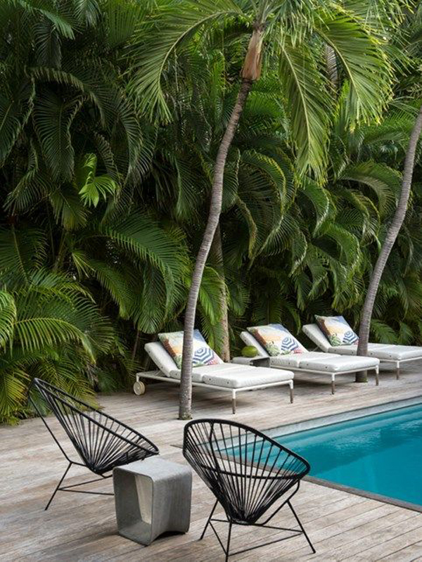 tropical-pool-landscping-ideas-with-acapulco-chairs
