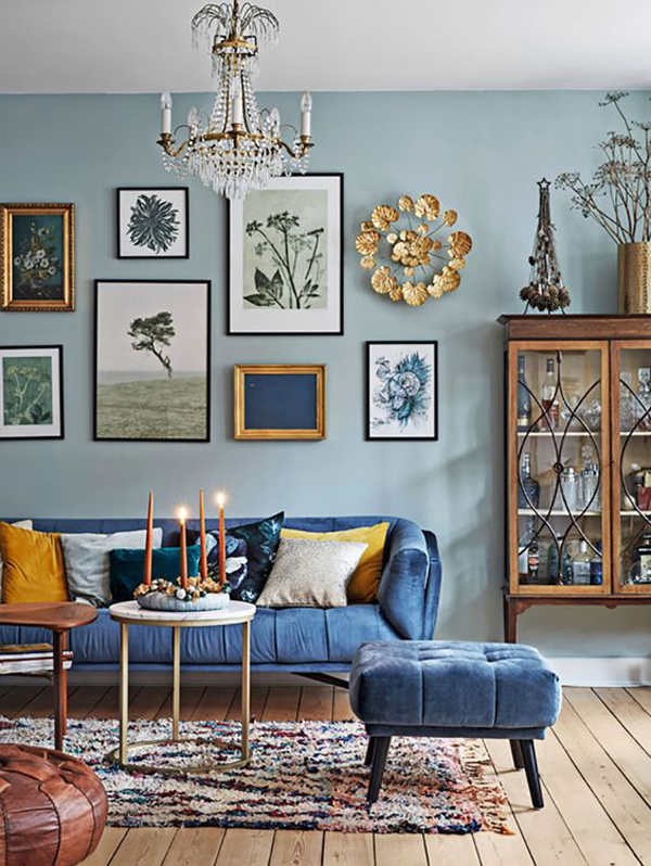 beautiful-blue-living-rooms-with-country-style