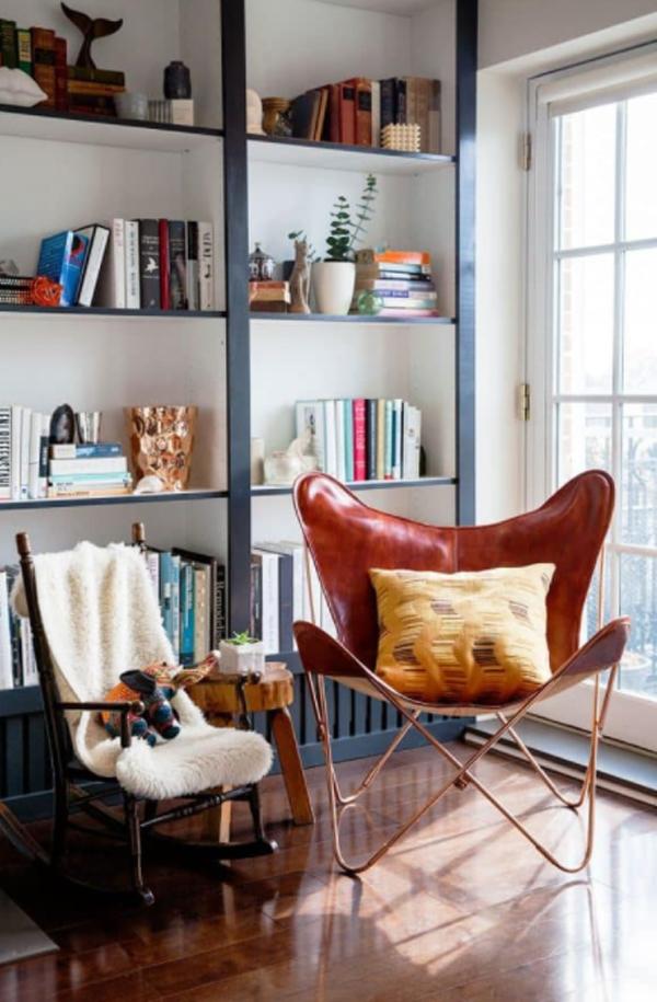 black-framed-billy-bookcase-ideas