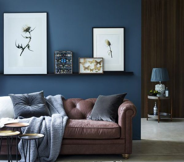 25 Calm And Gorgeous Blue Living Rooms To Inspire