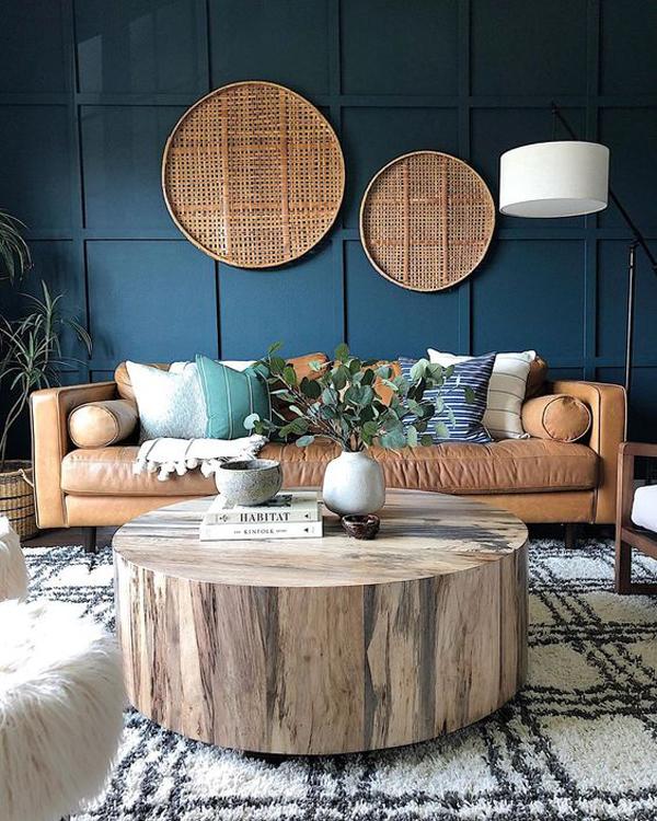 boho-chic-blue-living-room-ideas
