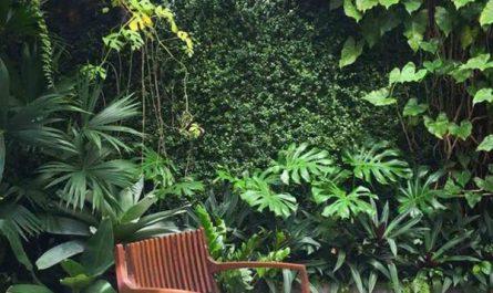 close-backyard-with-vertical-garden-decor