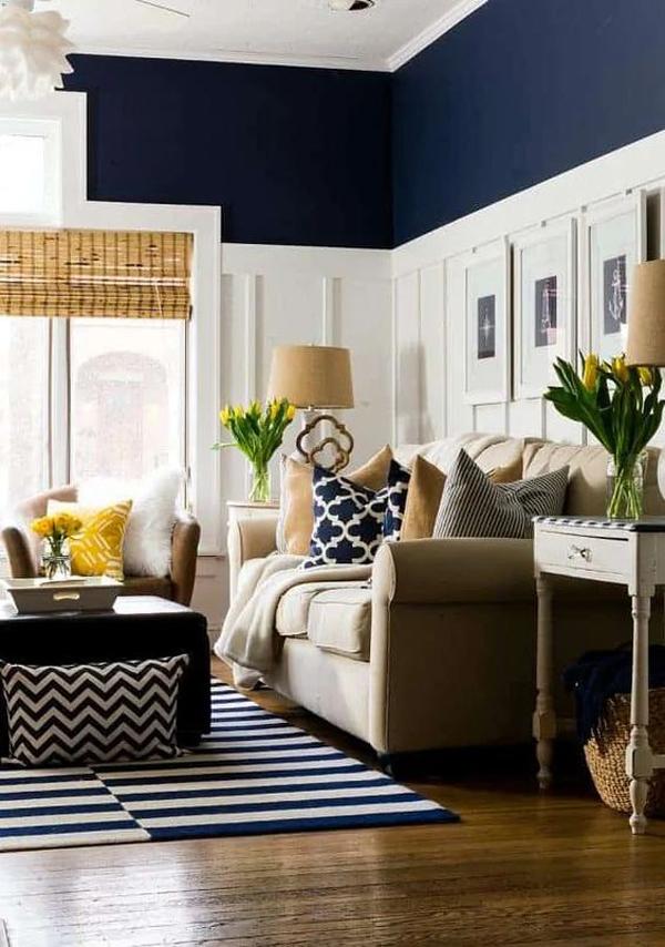 coastal-blue-living-room-decorations