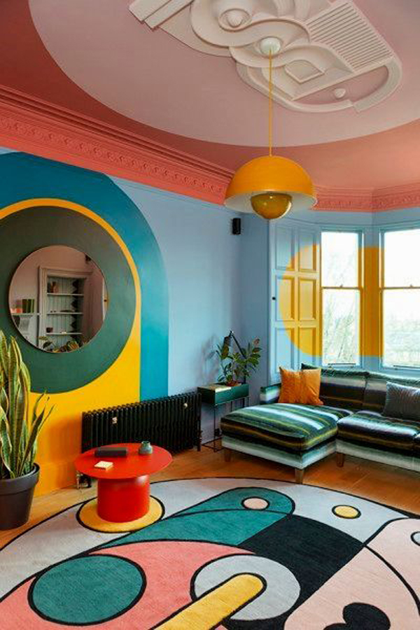 colorful-painted-room-design