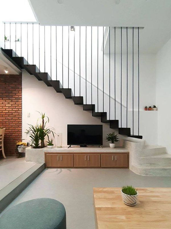 cool-floating-stairs-with-tv-unit-design