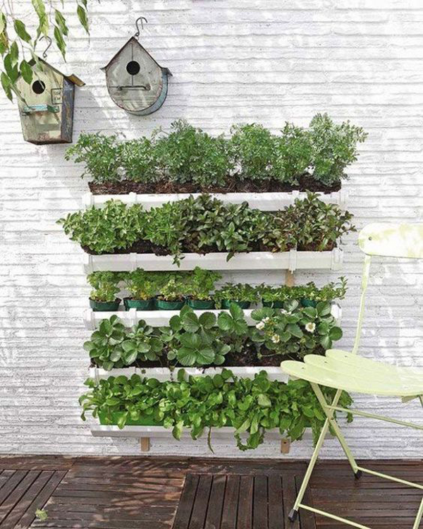 cool-vertical-garden-for-fence